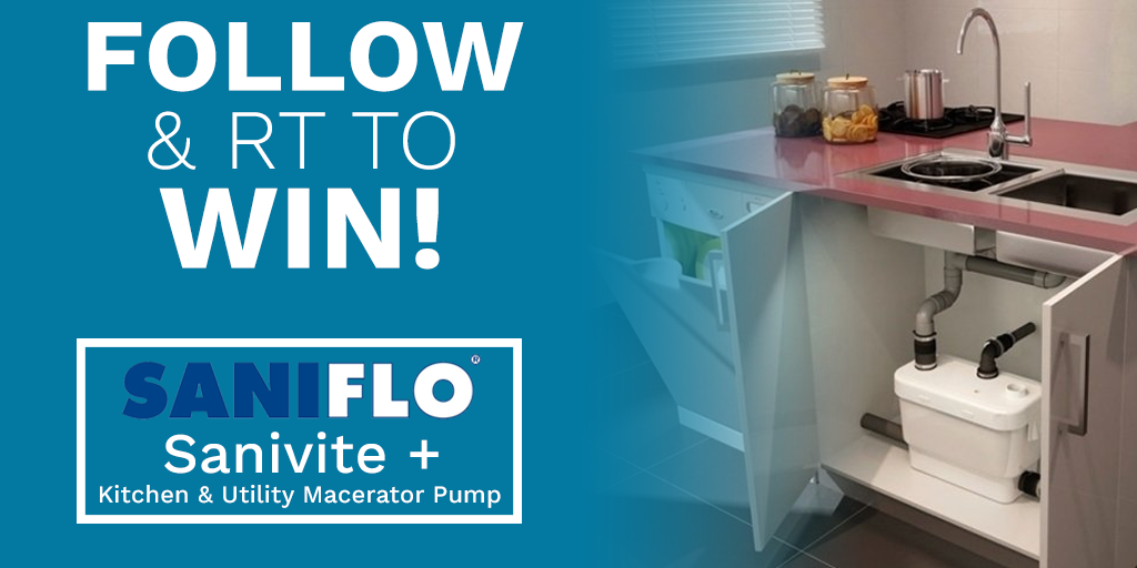 Competition Win A Sanivite Macerator Small Bore Pumping System