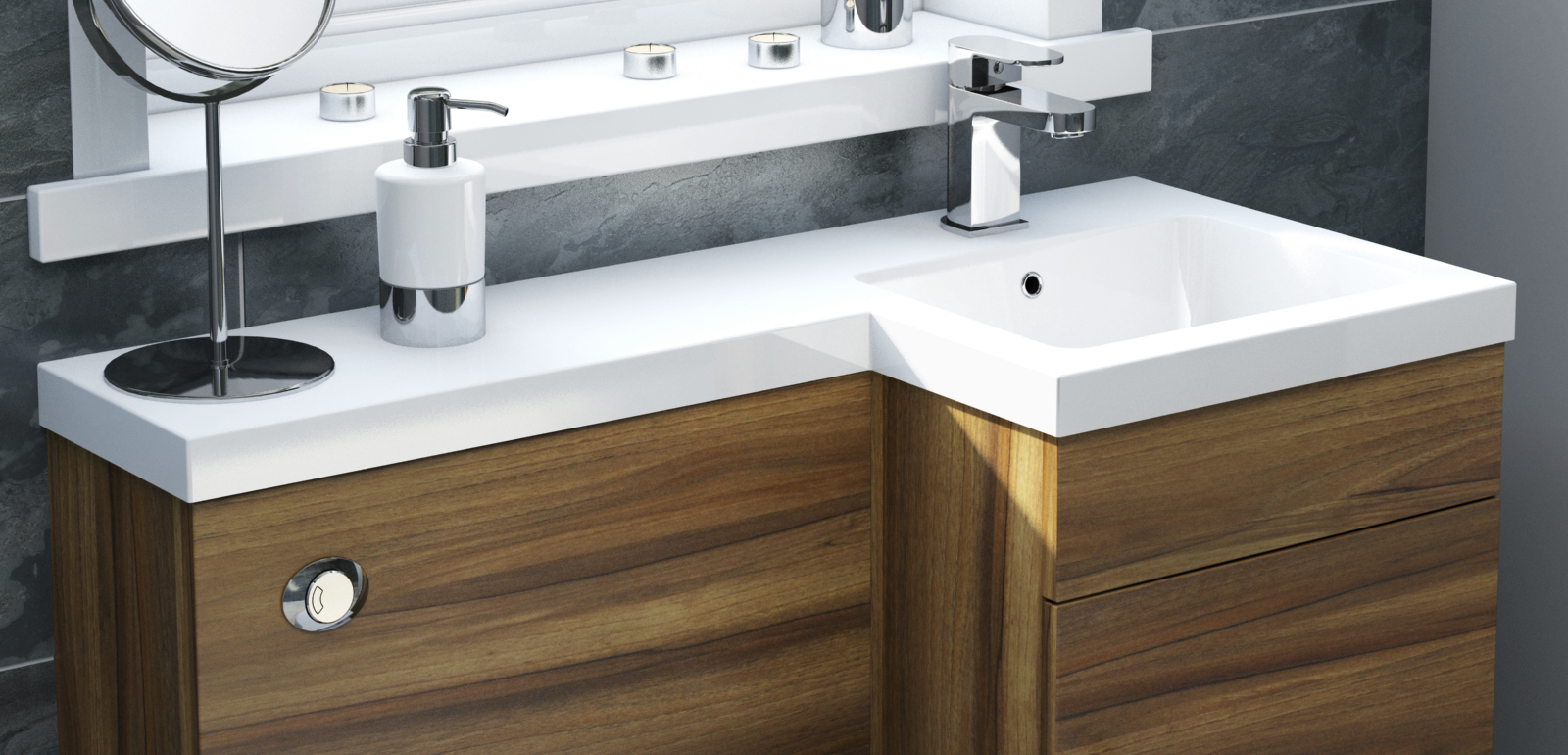 Simple Solutions for Small Bathrooms | PlumbNation.co.uk