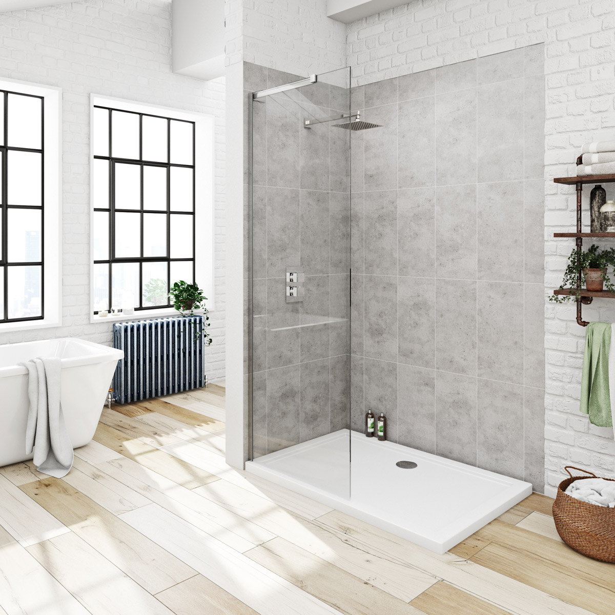 Walk in Shower or Wet Room: What\'s the Difference? - The PlumbNation ...