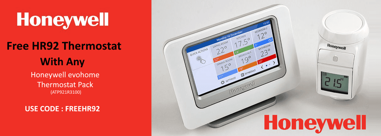 Giveaway: Honeywell evohome WiFi Connected Thermostat Pack